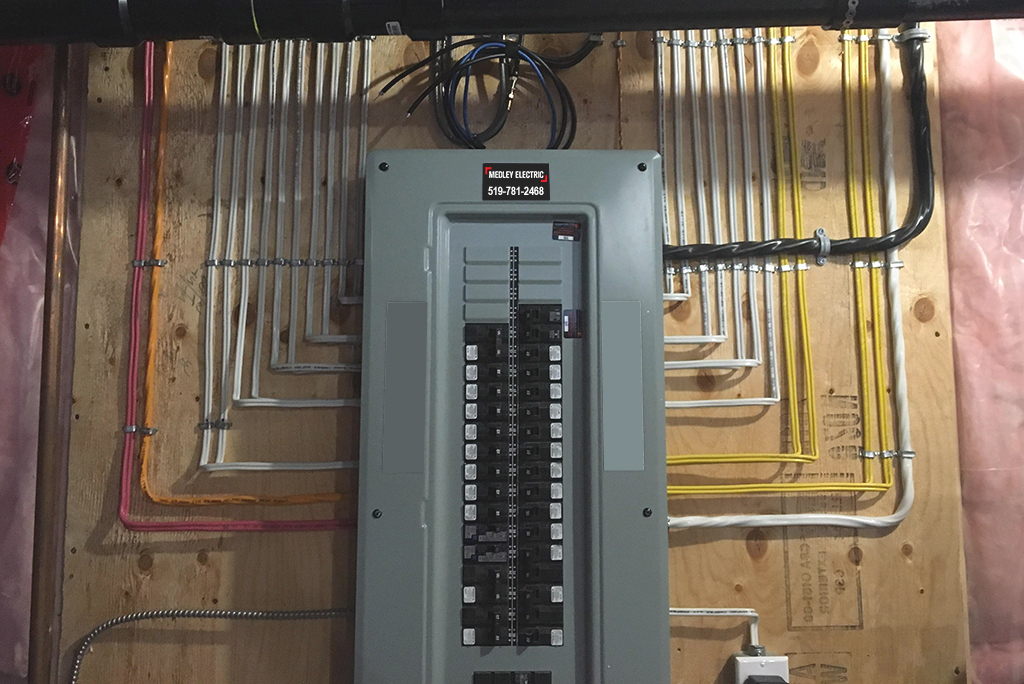 New Electrical Panel